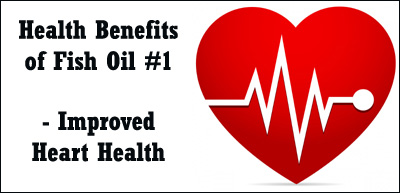 Fish oil may help to improve your heart health by strenghening the muscle and thinning the blood.