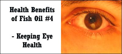 Fish oil helps keep eye degeneration at bay.