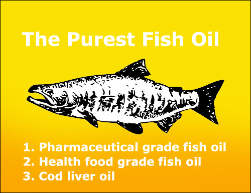 List of the purest fish oil: number one: pharmaceutical grade fish oil.
